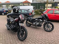 """#cse @djaccomo81 @tom_roozendaal  Dyna vs FXR - It's a ClubStyle thing you wouldn't understand    http://ift.tt/2vRW2Oj    #CSE #FDX #FXDX #FXDL #FXDB #FXDBB #FXD #harleydavidsonaddicts #fxdbb #fxdb #clubstyle #HD #harleydavidson #harley #dyna #dynas #dynaporn #custom #fairing #thugstyle #fuckyourstyle #forevertwowheels #lanesplitter #fuckstock #yourbikesucks #showoffmyharley #SOMH #Europeanmade #findyourfreedom    """"Four wheels move the body two wheels move the soul & If you arent having fun…"""