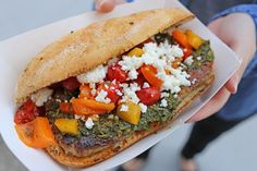 Che's choripan sandwich took home the award for best menu item at this year's AwesTRUCK.