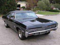 1968 Chevrolet Impala SS 427 #chevroletimpala1968 #mustangclassiccars