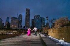 Millennium Park photo session  # engagement  # Chicago  # Millenium Park  # winter photo session