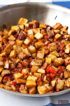 How to make Home Fries!  Recipe for your favorite breakfast comfort food.