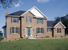 Adam - Federal House Plan with 2613 Square Feet and 4 Bedrooms(s) from Dream Home Source | House Plan Code DHSW13723