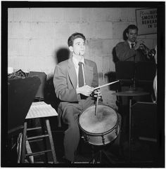 [Portrait of Shelly Manne, Bob Cooper, Art Pepper, and Bob Gioga, 1947 or 1948] (LOC) | Flickr - Photo Sharing!