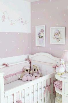 Decoración habitación bebé niña