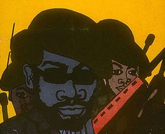 Emory Douglas worked as the Minister of Culture for the Black Panther Party from 1967 until the Party disbanded. He made some of the most iconic art work of the past 50 years, and he continues to live in the East Bay of the Bay Area. More