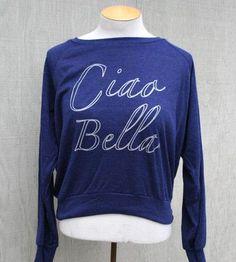 Ciao Bella Raglan Sleeve Tee by Rukus on Scoutmob Shoppe