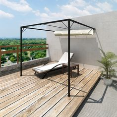 Garden Awning Canopy Party Gazebo Patio Shed Tent BBQ Barbecue Roof Sun Shade In Structures Awnings Canopies