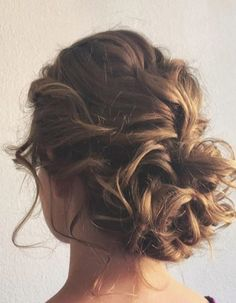 Perfectly Imperfect Updos You'll Love for Your Wedding