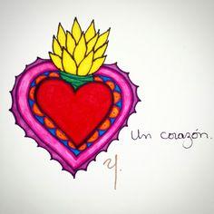 Un corazón.  #ociolanda #corazon #mexico