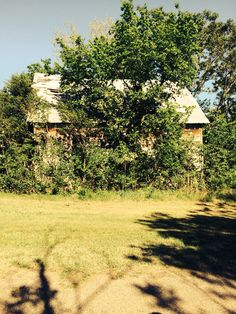 Abandoned home in Meridian OK