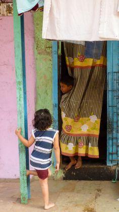 Behind the curtain . Mumbai