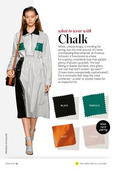instyle color guide 2015 - Google Search