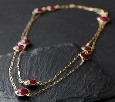 Alexis Russell Ruby Station necklace