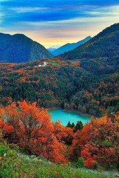Awesome views , Lake Plastiris, Greece