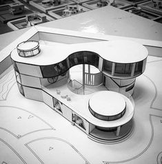 Nice send us your projects models renders works sketches the project of a family villa architecture villa archdrawing house Architecture Site, Maquette Architecture, Concept Models Architecture, Architecture Model Making, Futuristic Architecture, Interior Architecture, Barcelona Architecture, Landscape Architecture, Arch Model