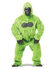 Gorilla Adult Costume (Green)   California Costumes