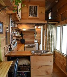 Tag a friend you would live here with! #tinyhome #tinyhouse