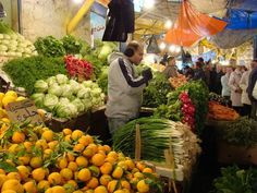 one of many fruits & vegetables markets in Amman