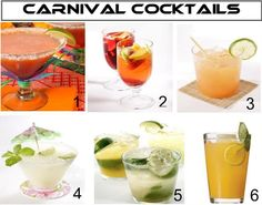 Mardi Gras Cocktails- For tips and ideas like this one visit our website at www.thepartybelle.net