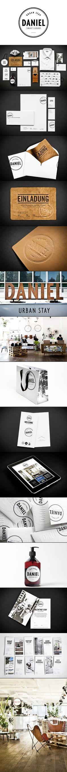 Hotel Daniel | Moodley Brand Identity