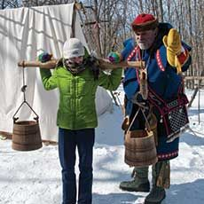 Festival of the Sugar Maples  March 7 & 8 and 14 & 15, 10 A.M. - 3 P.M.  Coral Woods Conservation Area, Marengo.  Learn some history and information about maples trees and sap collection while you hike to the sugar house. There, you will see how maple syrup is made and enjoy a taste of pure maple syrup. Visit www.mccdistrict.org for additional information.