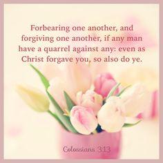 Colossians 3:13 KJV