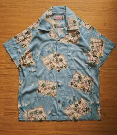 Honolulu Frame Shirt. Now available in our webstore size XS - S - M - L - XL - XXL #slodei #tropicthundervintage  www.tropic-thunder.com