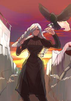 Kaizen, Beautiful Anime Girl, Fanarts Anime, Chainsaw, Discord, Hero, Animation, Names, Fan Art