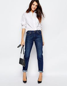 Buy French Connection Boyfriend Jeans In Rinse at ASOS. With free delivery and return options (Ts&Cs apply), online shopping has never been so easy. Get the latest trends with ASOS now. Feel Unique, French Connection, Boyfriend Jeans, Blue Jeans, Cool Outfits, Asos, Clothes, Shopping, Yummy Mummy