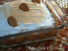 Mommy's Kitchen - Old Fashioned & Southern Style Cooking: Southern Banana Pudding {Potluck Sunday}