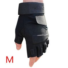 2015 blackhawk hell storm usa special forces tactical gloves slip outdoor Men fighting fingerless gloves SW56