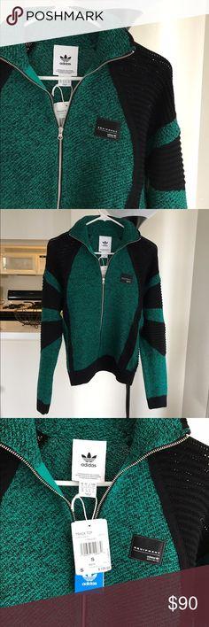 NWT Adidas/Equipment Zip Up Sweater Adidas/Equipment collab zip up. Size small. NWT! Adidas Sweaters