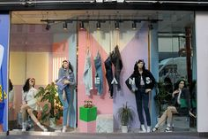 """American Apparel, """"shows off a softer sight"""", pinned by Ton van der Veer"""