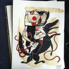 Illustration by Tattoo Artist Peter Aurisch