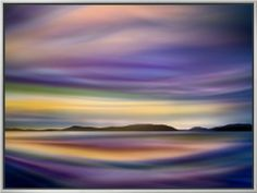Coastlines Framed Canvas Print by Ursula Abresch at AllPosters.com