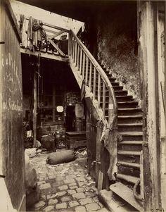 Cité Trebert, Porte d'Asnieres; Eugène Atget (French, 1857 - 1927); 1912; Albumen silver print; 22.2 x 17.4 cm (8 3/4 x 6 7/8 in.); 94.XM.108.5; Anonymous gift