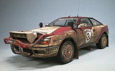 safari rally version toyota celica st165 TTE