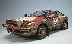 safari rally version toyota celica st165 TTE
