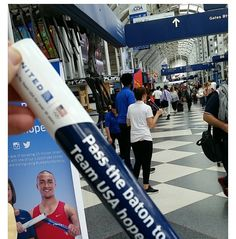 Get your baton @ O'Hare Airport terminal B New Tyres, Team Usa, Hare, You Got This, Racing, Tips, Advice, Lace, Rabbits