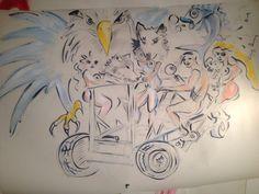 Shamans, Shamanistas and Spirit Animals riding the ShamanCycle Burning Man, Spirit Animal, Projects, Animals, Art, Log Projects, Art Background, Blue Prints, Animales