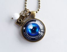 Camera Lens Necklace  Photography Jewelry  Gift by OxfordBright