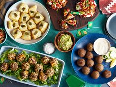 Surprise! These Snacks Are Stuffed : Inside each of these easy-to-eat bites is a bit of a surprise. From falafel balls stuffed with feta and tomato to portobello mushrooms overflowing with cheese, these recipes really stuff all the flavor they can into one bite.