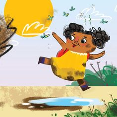 Unathi & the Dirty Smelly Beast Kids Stories Online, Free Stories For Kids, Short Stories To Read, English Stories For Kids, Moral Stories For Kids, English Story, Free Story Books, Children's Picture Books, Kids Writing