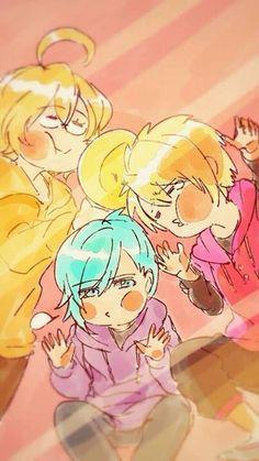 Kawaii Team (Cute Team) - Mikaze Ai, Shinomiya Natsuki & Kurusu Syo | Uta no Prince-sama