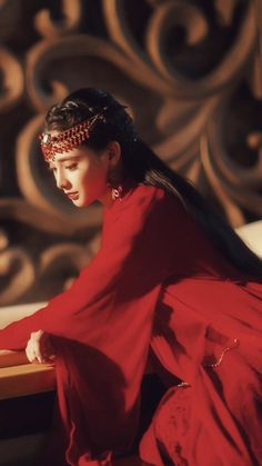 Kina Shen, Princess Of China, Dramas, White Cherry Blossom, Top Film, Red Costume, China Girl, Chinese Culture, Asian Style