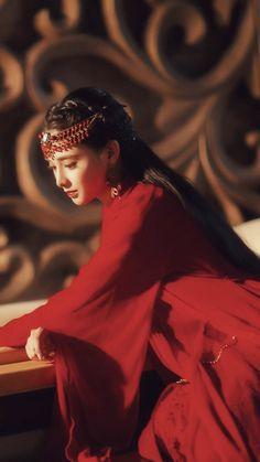 Princess Of China, My Princess, Kina Shen, Dramas, White Cherry Blossom, Top Film, Red Costume, China Girl, Chinese Clothing