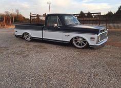 Hot Wheels - Sweet shot of @tim.fitch bad ass Chevrolet C10 via @laidbackrecreations , she's sweet! #chevrolet #gmc #c10 #airsuspension #bagged #stance #streetrod #hotrod #carporn #streettruck...