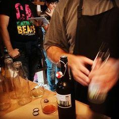 CERVEZA YAÑEZ imaginada al alimón con ORDIO MINERO.Espíritus afines creando nueva original cerveza: rica la cata de cervezas!