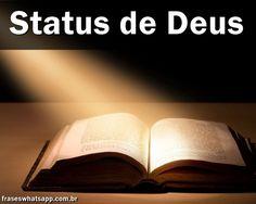 +70 Status de Deus! Concordo...
