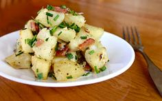 Yammie's Noshery: Bacon Ranch Roasted Potatoes